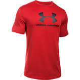 Under Armour Sportstyle Branded Tee Red / Black