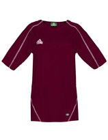 PEAK Shooting Shirt Burgundy / White