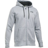 Under Armour Storm Rival Cotton Full Zip Grey / Graphite