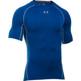 Under Armour Heat Gear Kompression Shortsieeve Shirt Royal / Steel
