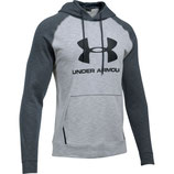 Under Armour Sportstyle Fleece Hoodie Overcast Gray / Stealth Gray / Black