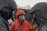 Realbrandausbildung mit taktischer Brandbekämpfung