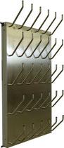 Schuhtrockner / Stiefeltrockner für 15 Paar elektrisch beheizt mit Gebläse