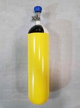 Atemluftflasche / Druckluft-Flasche 6 L / 300 bar, Stahl