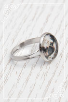 Ring - silber double