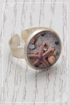 Ring - silberfarben Durchmesser 18 mm