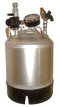 Serbatoio sotto pressione  INOX   da 9 e 18 LITRI