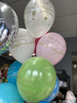 11inch/27,5cm Latexballon mit Helium gefüllt am Band          Bilder folgen