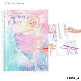 Create your Fantasy Model Malbuch mit Stickern BALLETT