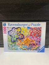 Ravensburger Puzzle 1000 Teile Viele bunte Puzzleteile