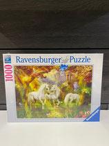 Ravensburger Puzzle 1000 Teile Einhörner im Herbst