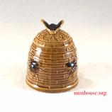 イギリス ハニーポットS/Vintage Bee Hive honey Pot