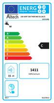 Chauffe eau électrique ALTECH 150l Vertical Mural diamètre 530