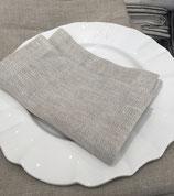 Serviettes en lin lavé