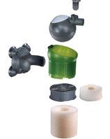Esponjas filtros internos