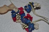 petit bouquets de fleurs en tissus