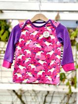 Babyshirt Einhorntraum pink  Gr. 74/80