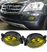 Kit Fendinebbia Anteriori Yellow Look Mercedes ML W164