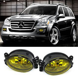 Kit Fendinebbia Anteriori Yellow Look Mercedes GLK X164