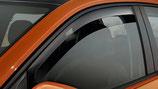 Deflettori Antiturbo Anteriori Scuri Fiat 500X 2015+