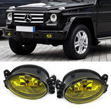 Kit Fendinebbia Anteriori Yellow Look Mercedes G W463