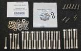 EDELSTAHL-Schrauben Kits für SPORTSTER® Seitendeckel links / rechts