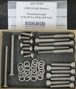 EDELSTAHL-Schrauben Kits für BigTwin Primär- und Kupplungsdeckel, Inspection Cover