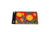 Credenza Mini Schreibbuch Floral Orange - blanko