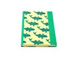 Credenza Schreibbuch Fische Grün - blanko
