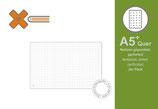 X17 A5+ Quer Notizen gepunktet, 2er Pack