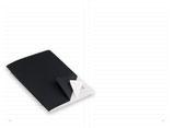 X47 A6 Notizen liniert - Umschlag s/w