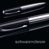 X47 N°1: DREHBLEISTIFT 0,7 MM SCHWARZ/CHROM