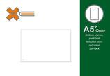 X17 A5+ Quer Notizen, blanko, 2er Pack
