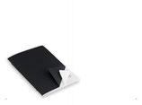X47 A5 Notizen Hochkant blanko - Umschlag s/w