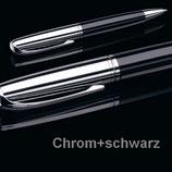 X47 N°1: DREHBLEISTIFT 0,7 MM CHROM/SCHWARZ