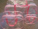 Набор прозрачных сумок в роддом №1