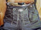 Lederhosentasche glatt und Schwarz!
