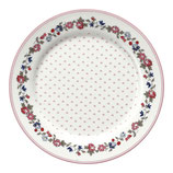 Kids Plate Kinderteller Ruby Petit white