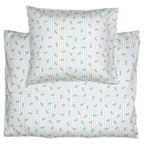 Bettwäscheset 100x140 cm  Lily petit white 3er Set