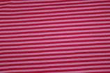 Lillestoff Baumwolljersey Ringel Streifen Pink Rosa Ringeljersey