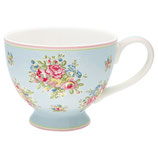 Greengate Große Teetasse Franka Pale Blue