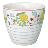 Greengate Latte Cup Limona white