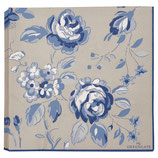 Greengate Papierservietten Amanda dark blue