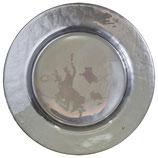 Greengate Glasteller Platzteller Silver Pearl