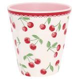 Grengate Melamin Becher Mug Cherry white