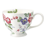 Greengate Große Teetasse Isobel white