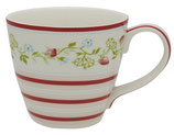 Greengate Mug Henkelbecher Teetasse Gloria white