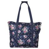 Greengate Travel Bag Weekender Reisetasche Rose dark Blue