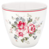 Greengate Latte Cup Elouise white