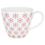 Greengate Mug Henkelbecher Teetasse Leah pink